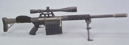 Light weight 50 BMG Rifle - Anzio Ironworks specializes in high quality 50 BMG Rifles and Ammunition.